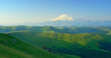 Elbrus in morning