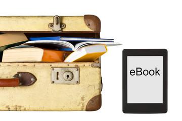 Lesen im Urlaub - Buch vs eBook