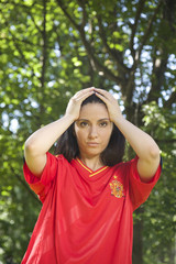 loser spanish football supporter