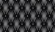 Black luxury quiltn vector seamless pattern