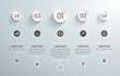 infografía para negocios con valores, niveles e iconos. Vector - 76642533