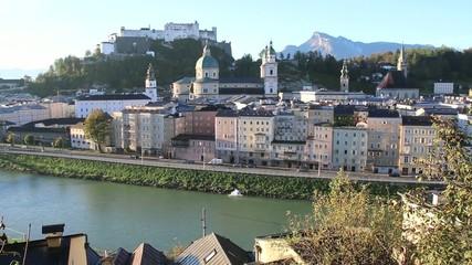 Salzburg - 001 - Altstadt - Kapuzinerberg