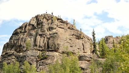 Angel Rocks Alaska Greenery