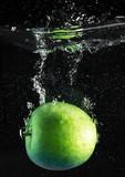 mela verde splash