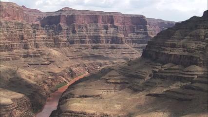 Grand Canyon Mountain Cliffs River