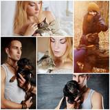 Mensch und sein Haustier