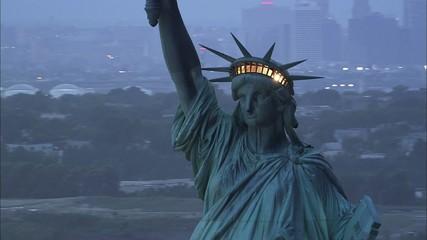 New York Statue Liberty Highway