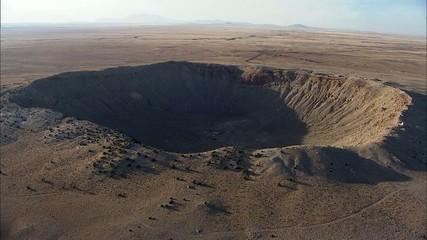 Arizona Desert Barringer Crater