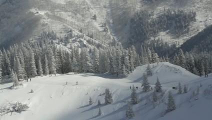 Backpackers Aspen Colorado Hill