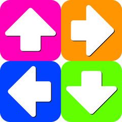 Arrows squares