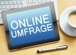online umfrage - 76651526