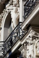 Art noveau architecture element