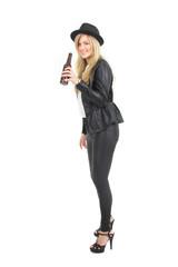 Flaschenbier und gute Laune