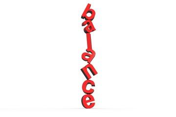text balance