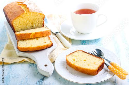 Coconut cake loaf - 76655511