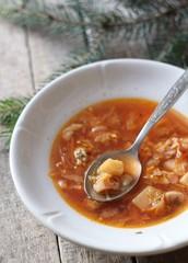 Первое, борщ, суп