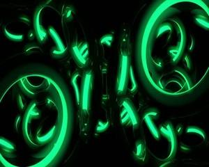 зелёные кольца