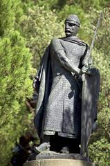 Don Alfonso Henriques Statue - Lisbon, Portugal.
