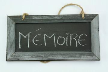 ardoise mémoire