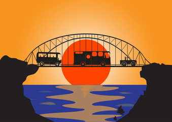 Holiday Vehicles Metal Bridge