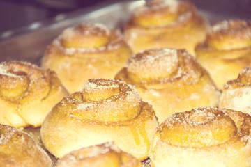 buns with  cinnamon