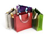 Fototapety Shopping bags