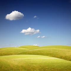 Wunderschöne Hügellandschaft