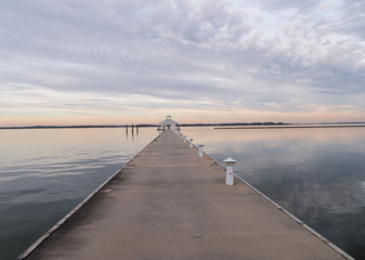 path on Chesapeake Bay