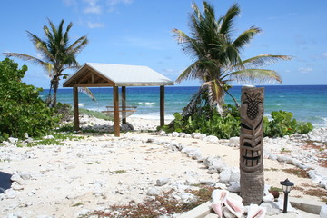 Tiki Hut Tropical Island