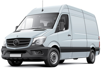 European delivery van