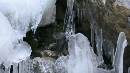 buzların erimesi ile oluşan güzellikler