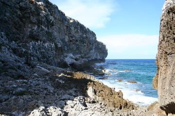 Cayman Brac Island Ocean Cliff
