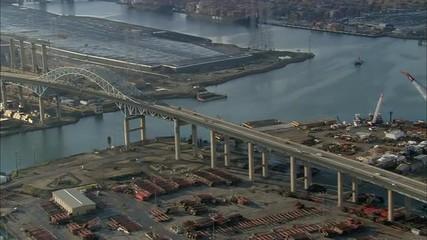 California Long Beach Harbor