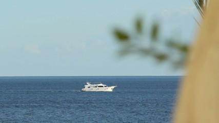 Floating yacht