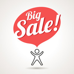 Big Sale Announcement Symbol