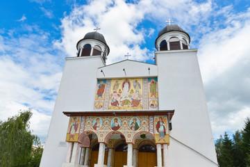 Christian Orthodox monastery church in Iasi Romania