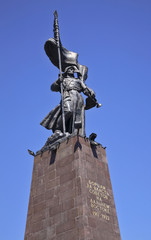 Monument to the Fighters for soviet power in Vladivostok