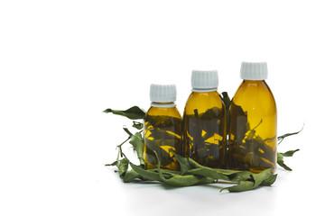 natural oil and herbal ingredients