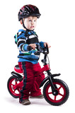 Chłopczyk i rower