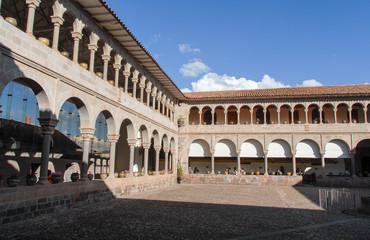 Spanish Colonial Cloister Koricancha