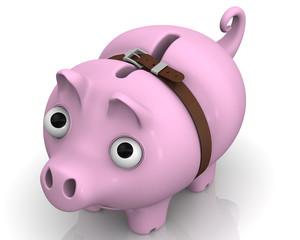 Свинка-копилка в период экономического кризиса