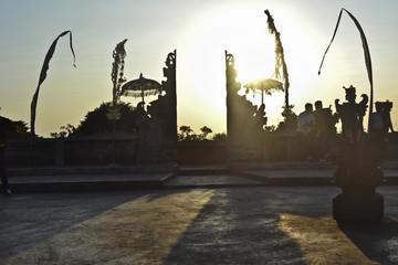 Tempio induista e danza kecak: pura luhur ulu watu