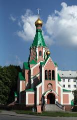 Orthodox Church dedicated to Saint Gorazd in Olomouc.
