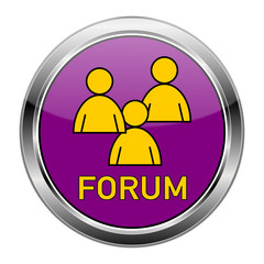 Forum Button bunt  #150124-10