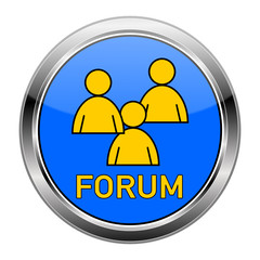 Forum Button bunt  #150124-12
