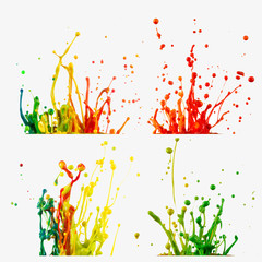 Color splashes collections