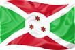 Постер, плакат: Flag of Burundi