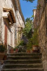 Baux de Provence Treppen