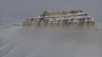 Snow Mountain Ranges Peaks