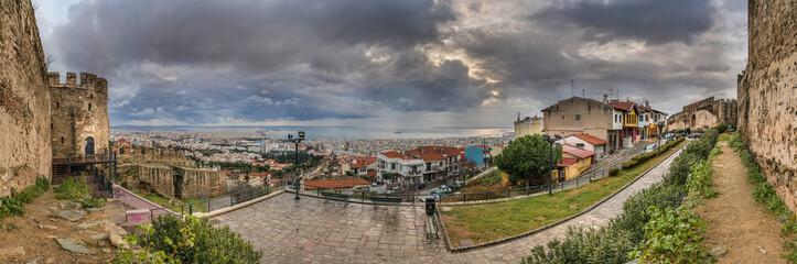 Panorama of Thessaloniki City from Trigoniou Tower
